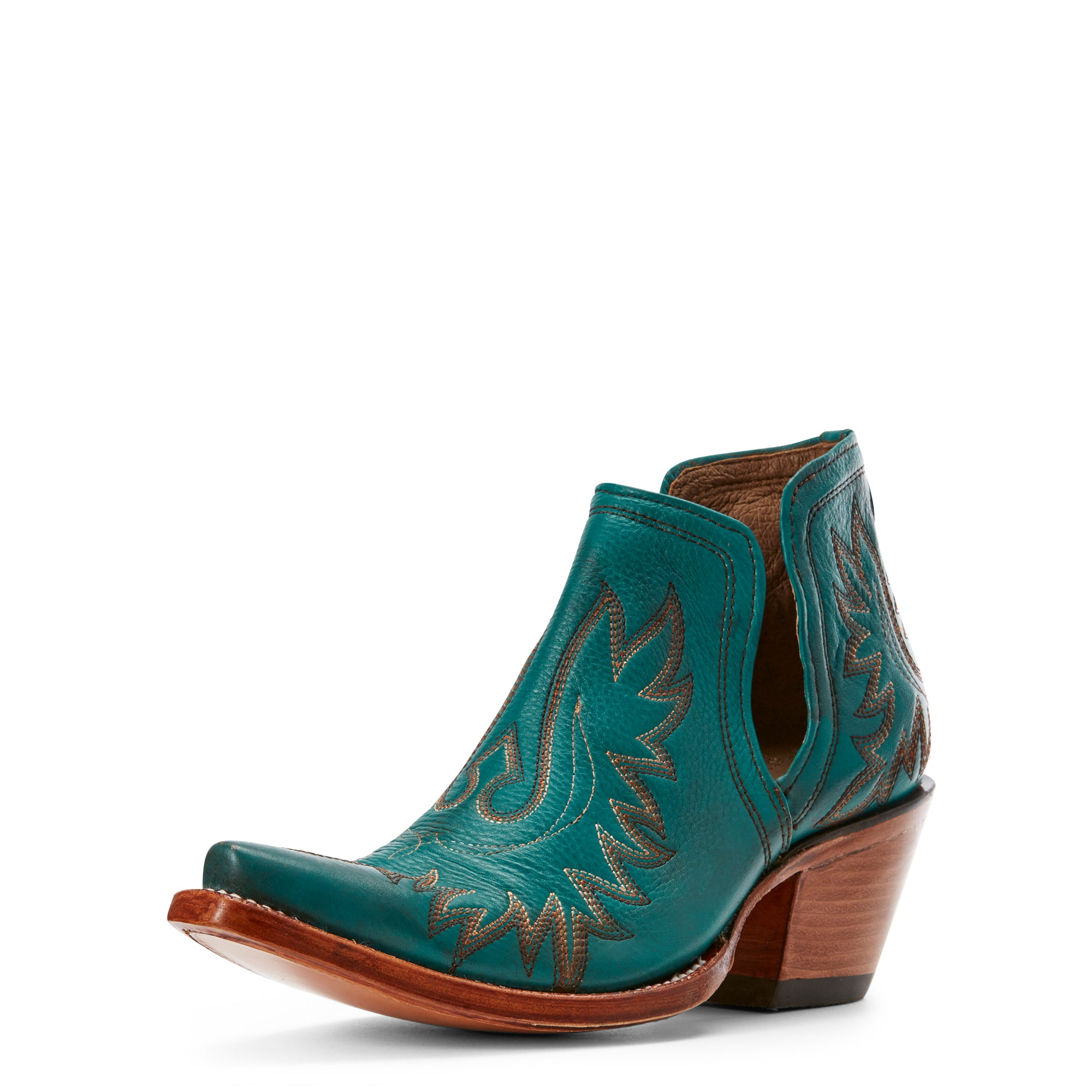 Turquoise Dixon Bootie by Ariat