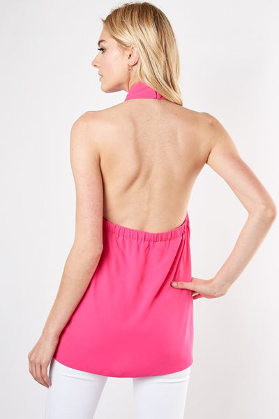 Do+Be Backless Women's Top