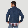 Lazy J Ranch Wear Retro Sherpa Lined J Ranch Denim Jacket