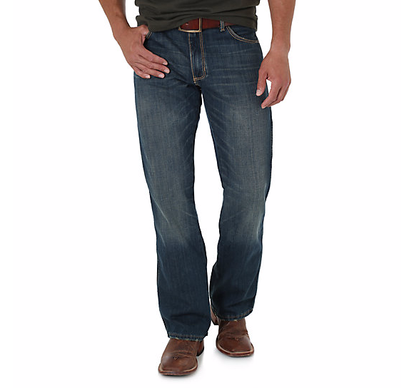 Men's Retro Slim Bootcut Jean by Wrangler