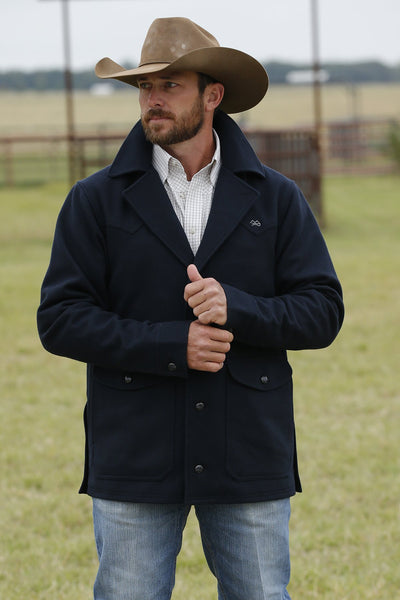 Miller Ranch Navy Wool Men's Jacket