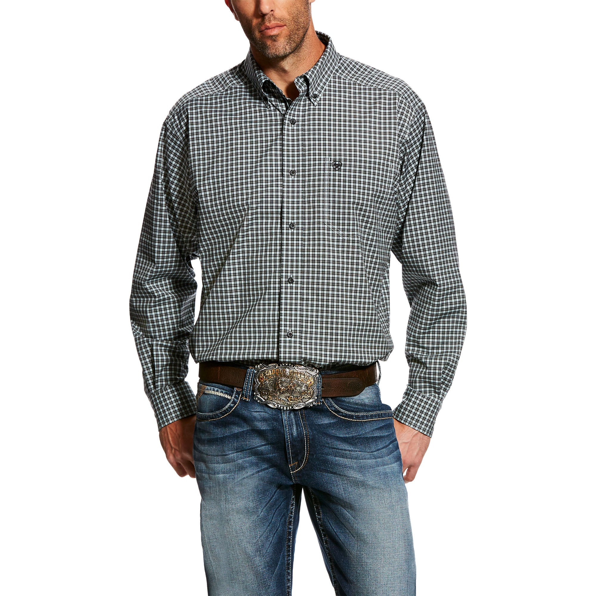 Men's Eavers L/S Button Up By Ariat