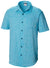 Columbia Under Exposure Heather Blue Button Down