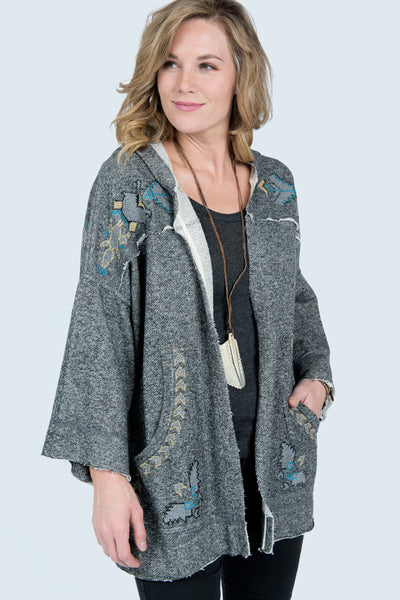 Hooded Jacket By Ivy Jane