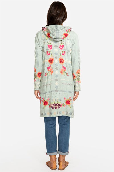 Rose's Hooded Cardigan By Johnny Was