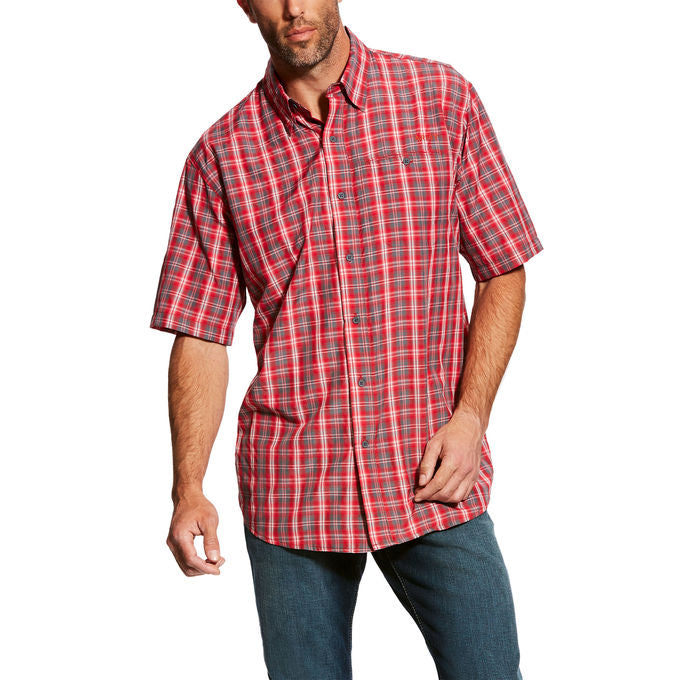 Ariat VentTek II  Hot Spark Plaid Short Sleeve Men's Shirt