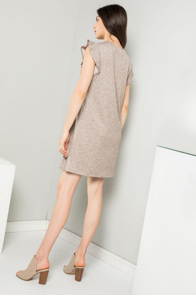 THML Embroidered Women's Knit Dress
