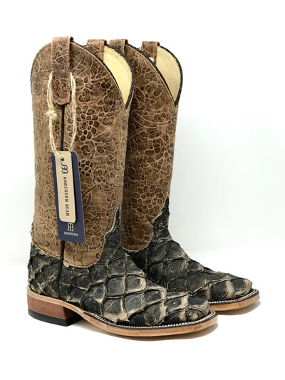 Women's Brazilian Big Bass and Tooled Exclusive Anderson Bean Boot - 323910
