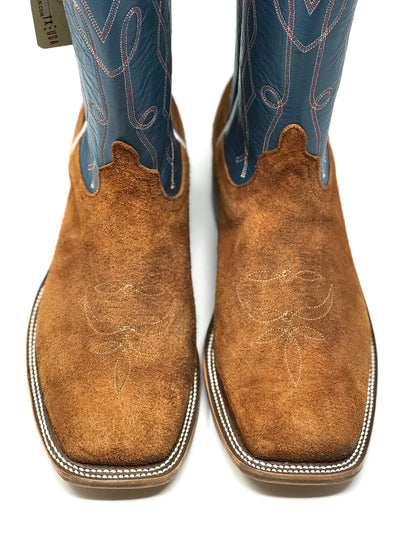 Anderson Bean Cognac Rough Out Lazy J Exclusive Boot