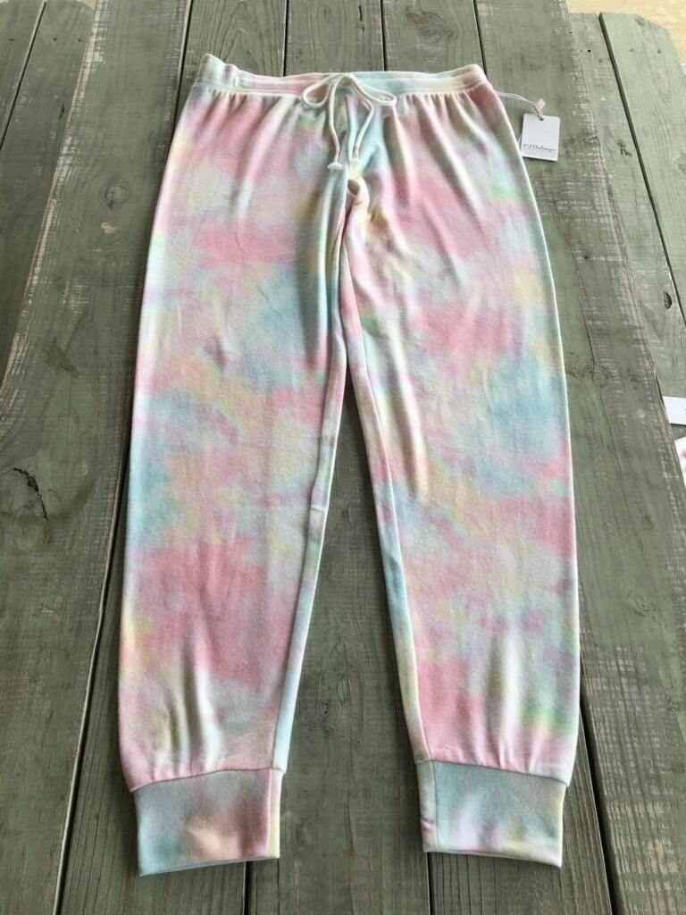 PJ Salvage Feelin' Good Tie Dye Pants