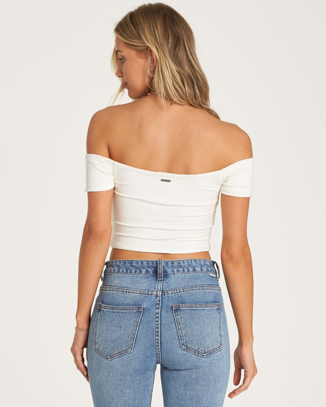 Billabong Hailey White Women's Crop Top