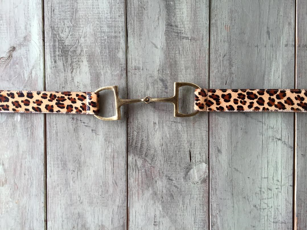 Little Leopard Jag Bit Belt by Tasha Polizzi