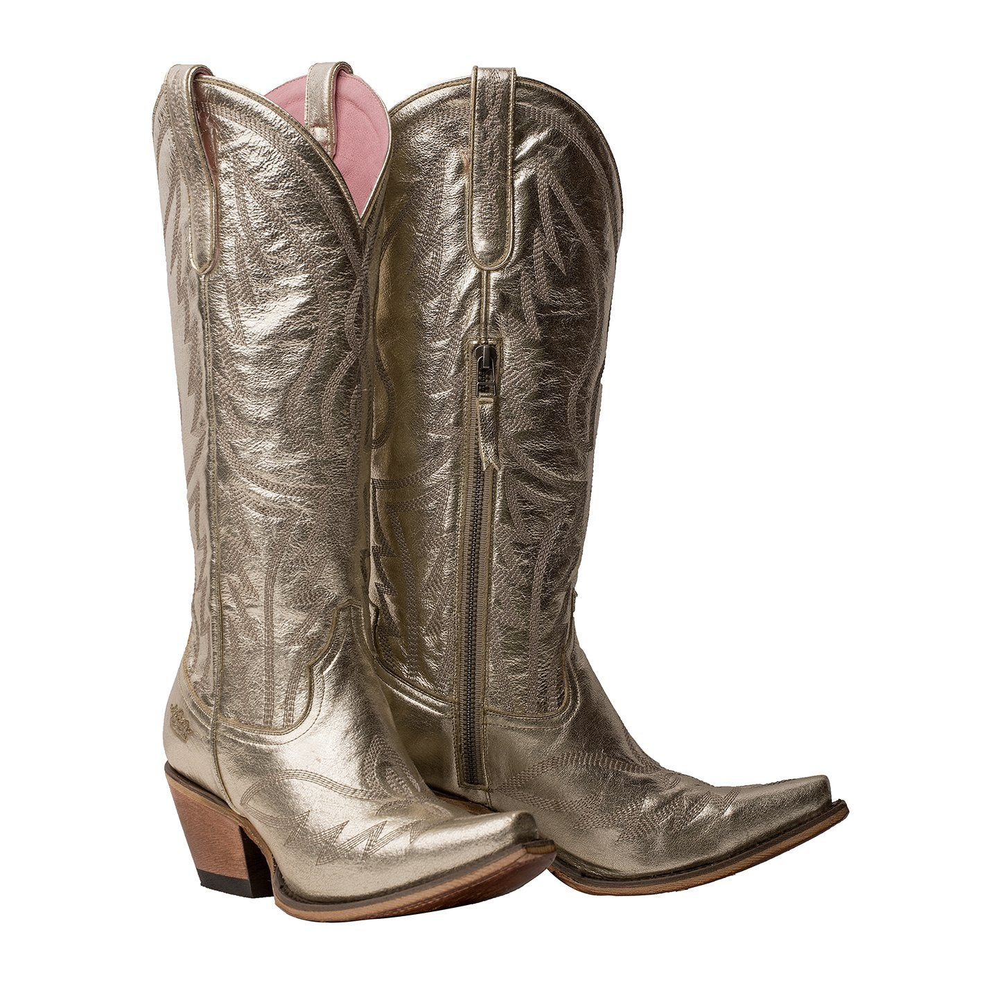 Junk Gypsy Champagne Metallic Nighthawk Women's Boot
