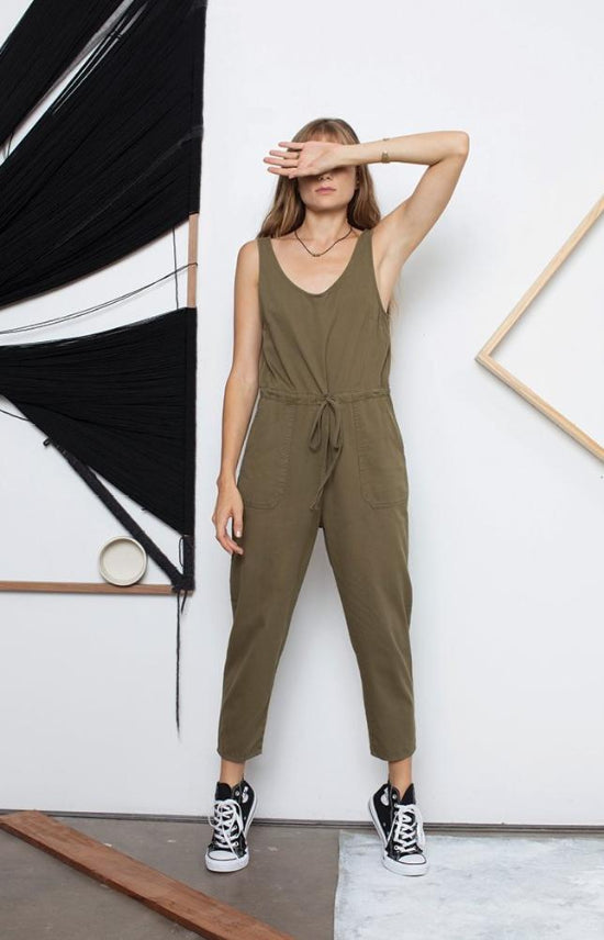 Everyday Olive Green Women's Jumpsuit