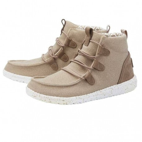 Hey Dude Lea Chestnut High Tops Shoes