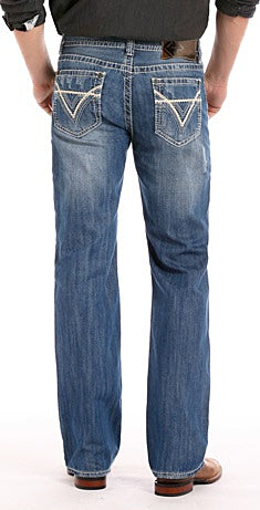 Rock N Roll Double Barrel Straight Relaxed Fit Men's Jean
