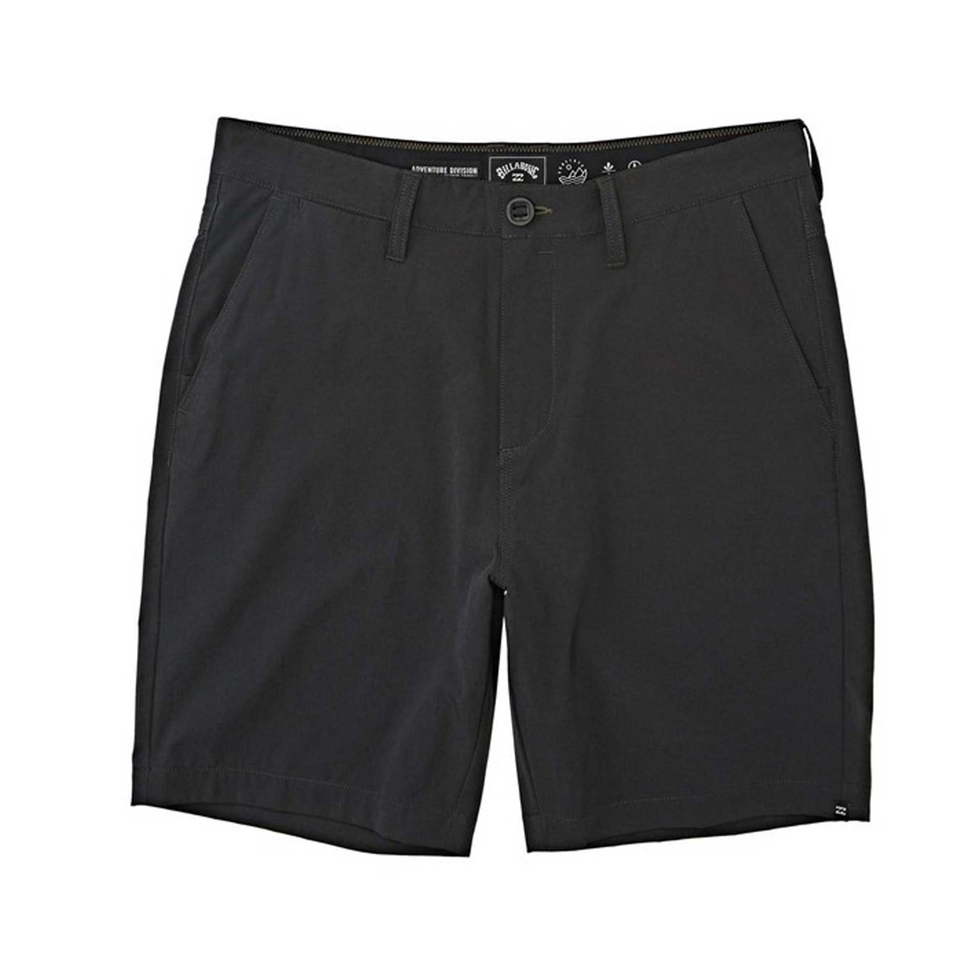Billabong Surftrek Heather Walkshorts - Black