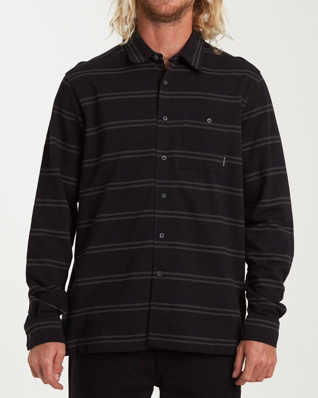Billabong Swindler Black Men's Long Sleeve