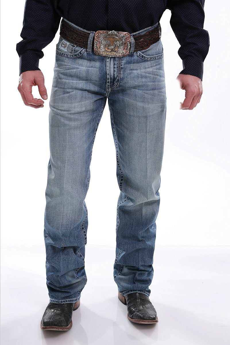 Men's Relaxed Fit White Label Performance Denim