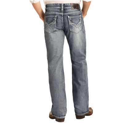 Panhandle Men's Relaxed Fit Double Barrel Straight Leg Jeans