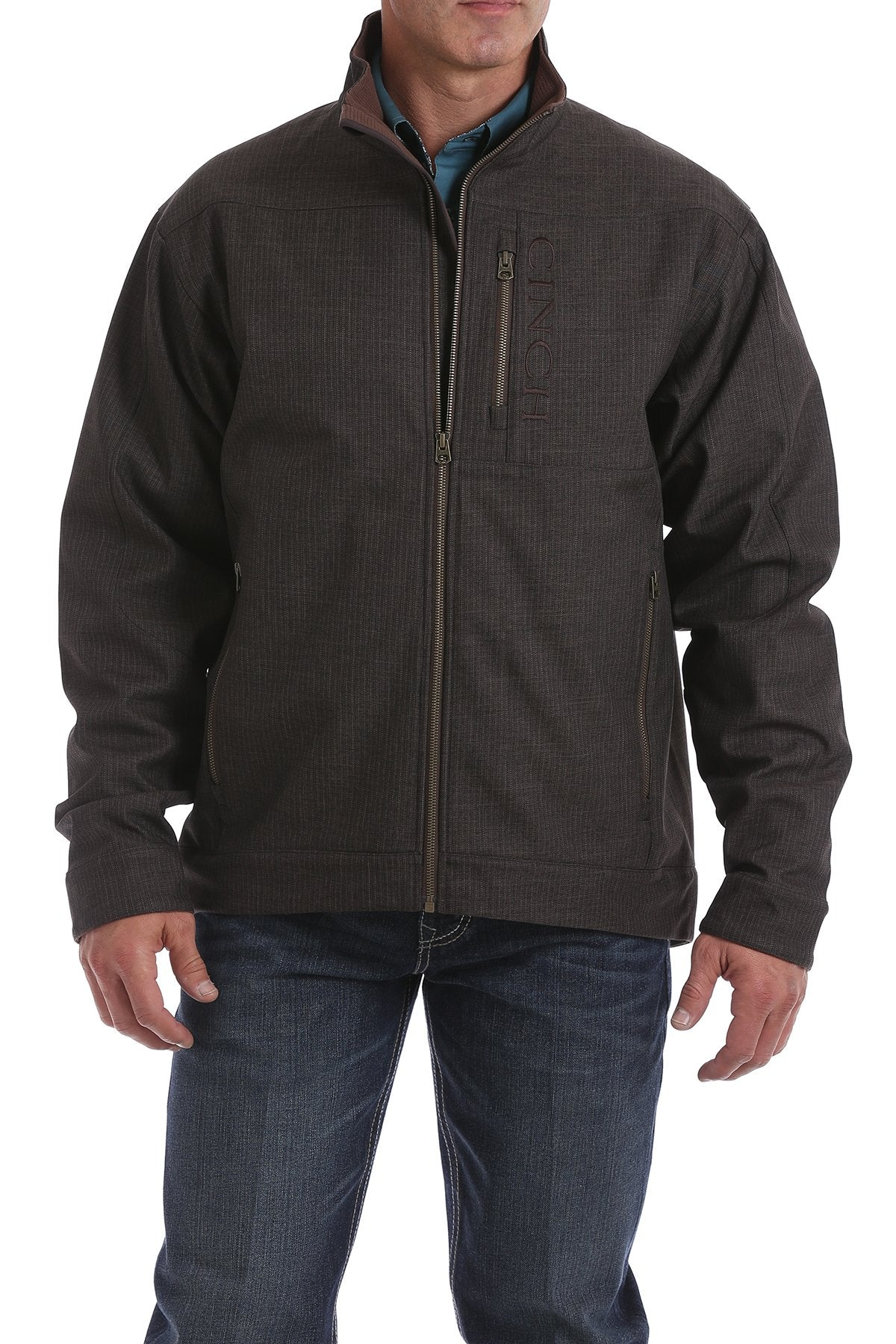 Cinch Chocolate Bonded Concealed Carry Men's Jacket