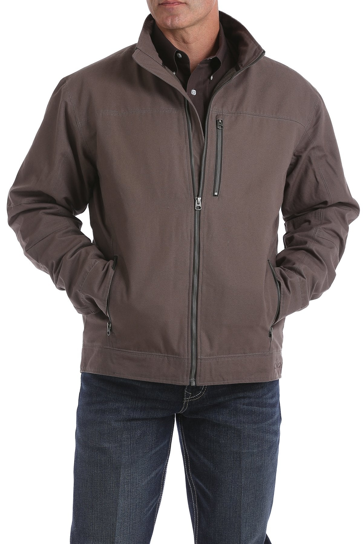 Cinch Men's Brown Concealed Carry Canvas Jacket