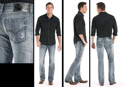 Pistol Straight Leg Jeans By Rock & Roll