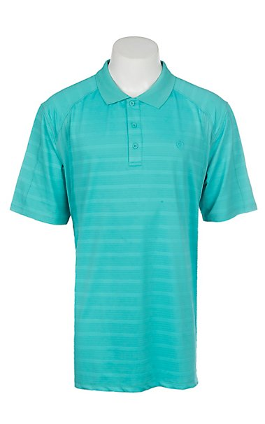 Ariat Ceramic StripeMen's Polo Shirt