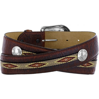 Justin Men's Northern Bison Belt