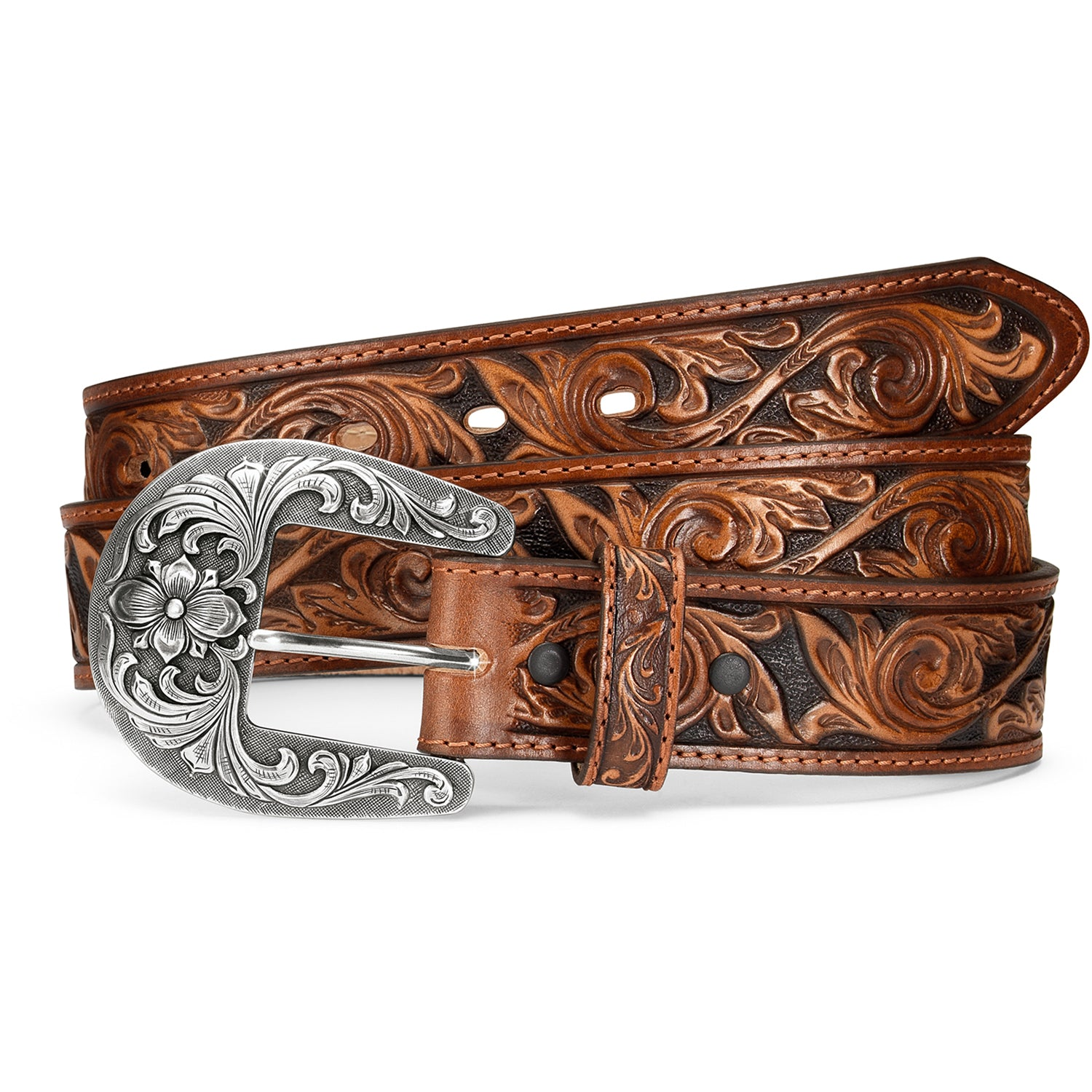 Traditional Western De Leon Belt