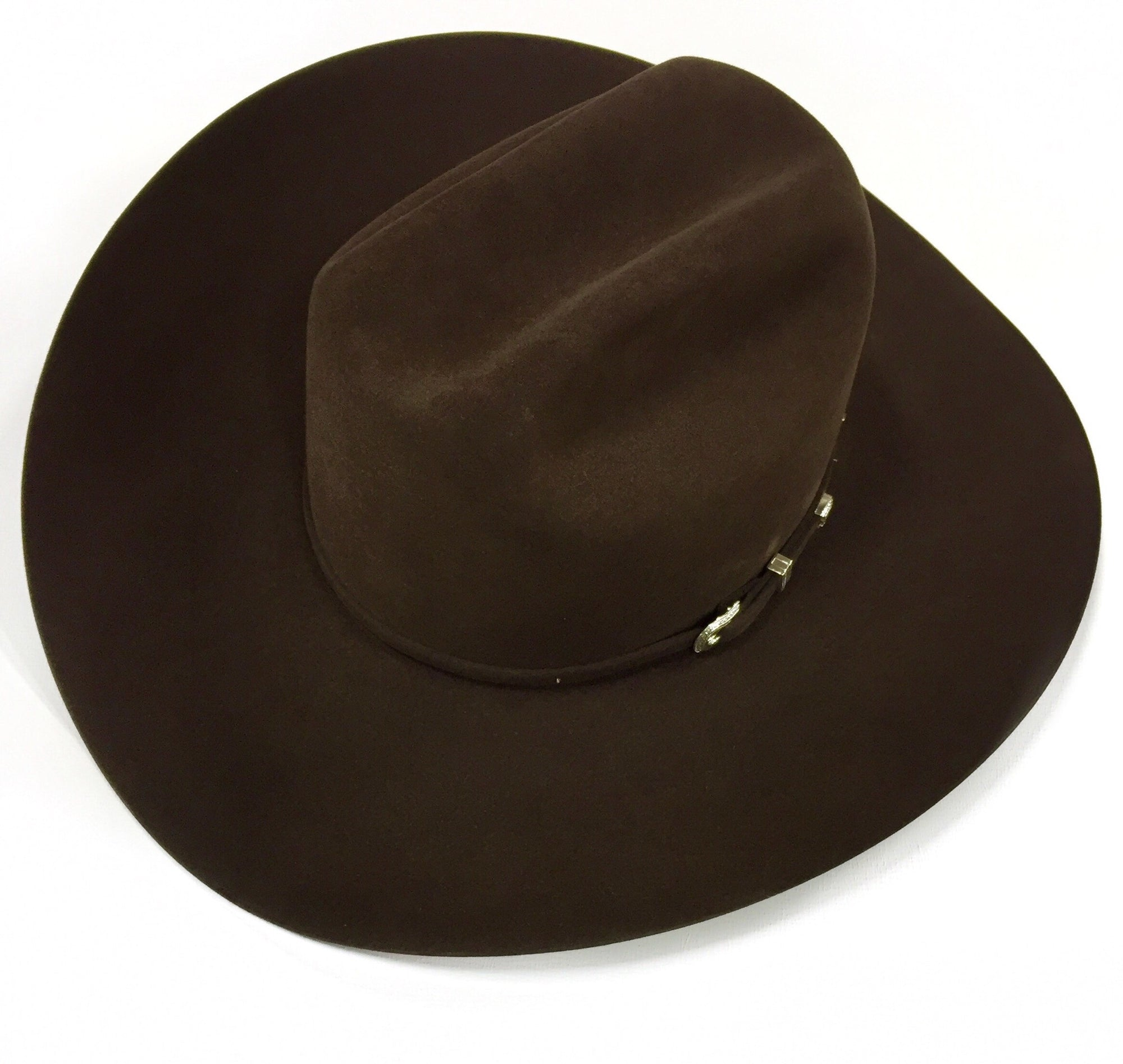 c2023f175fa76b Chocolate 7X 4 1/4 Brim Felt Hat by American Hat Co. - Lazy J Ranch Wear