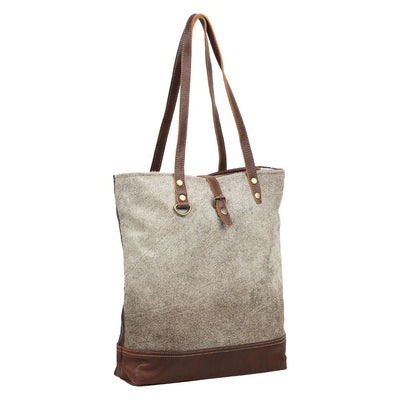 Cowhide Fur Tote Bag