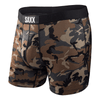 Saxx Vibe Woodland Camo Men's Boxer Briefs