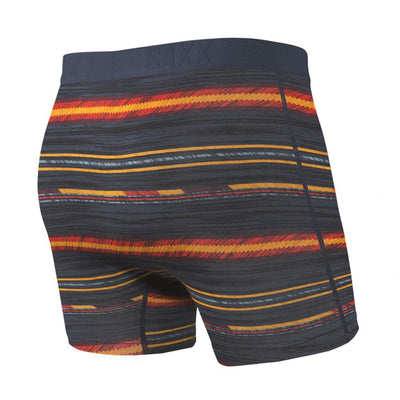 Saxx Ultra Navy Frontier Stripe Men's Boxer Brief