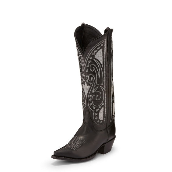 Justin Starlet Black Women's Boot