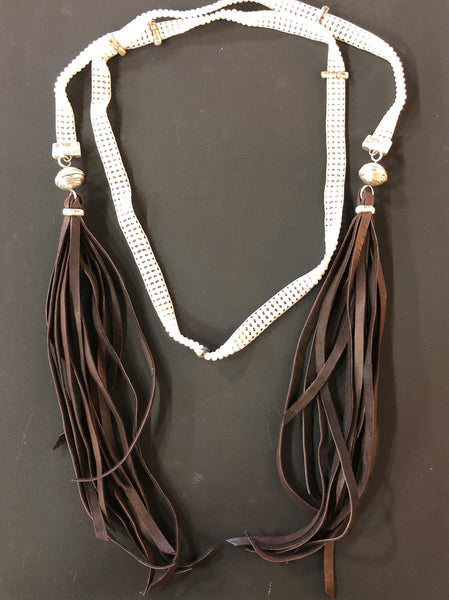 Triple Loom Pearl Wrap Necklace By Love Tokens