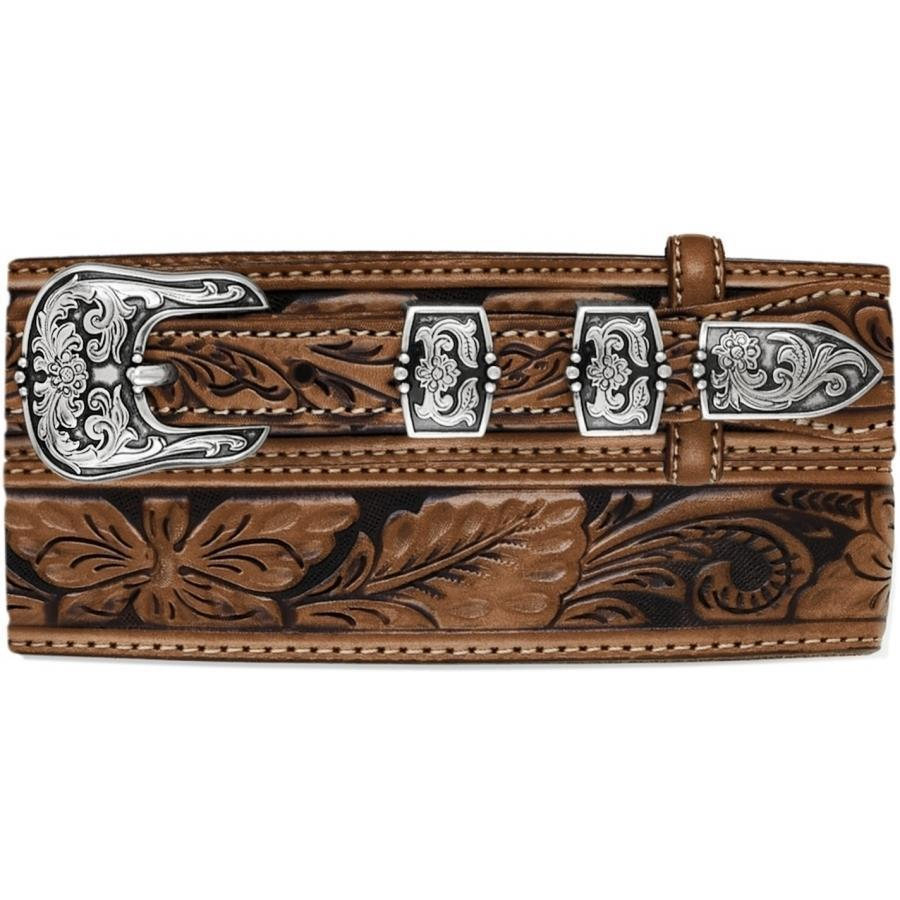 Men's Floral Bandera Belt By Tony Lama