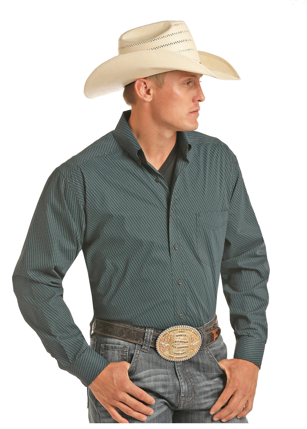 Panhandle Tuf Cooper Performance Men's Button Down