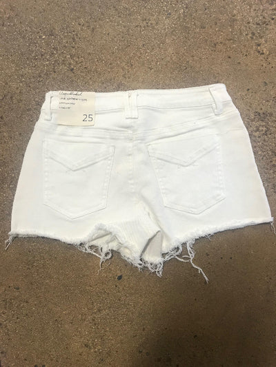 Unpublished White Jean Short