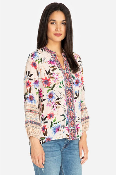 Johnny Was Paris Effortless Women's Blouse