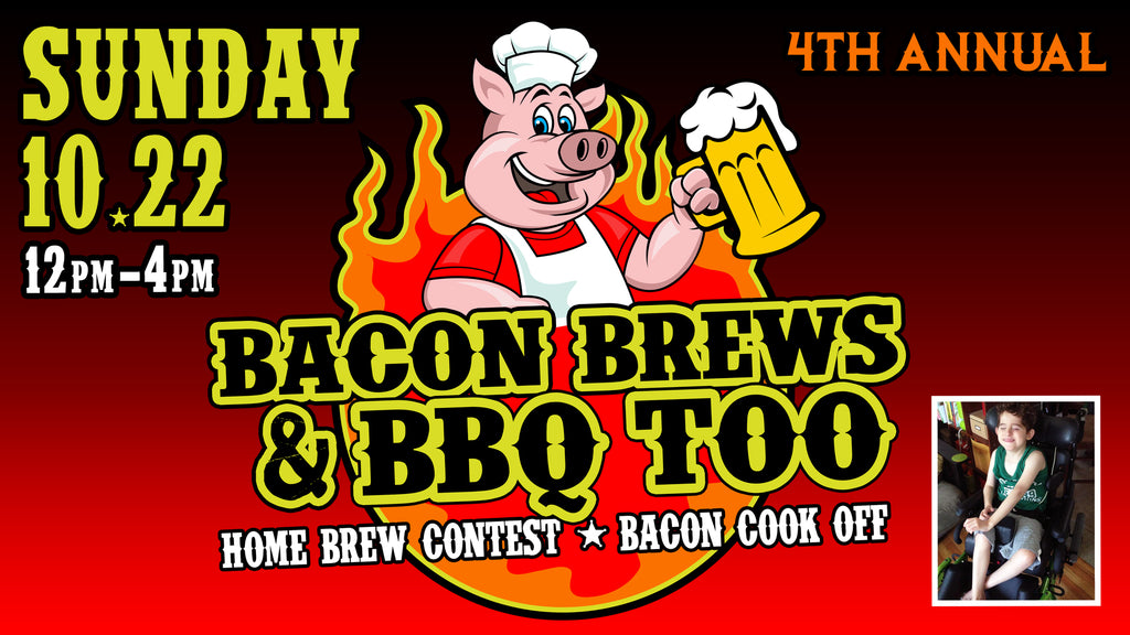 Bacon Brews & BBQ Too Charity Event!