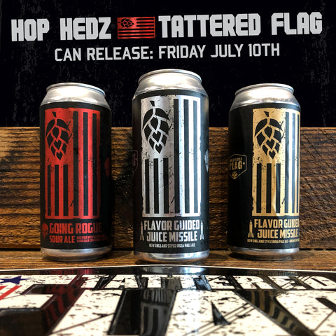 Hop Hedz - Tattered Flag Collab Beers!