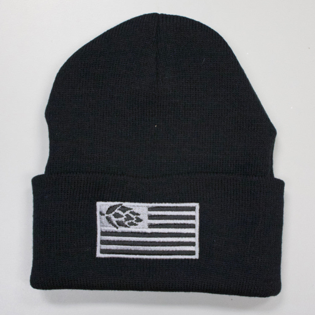 Hops Nation Beanie Black