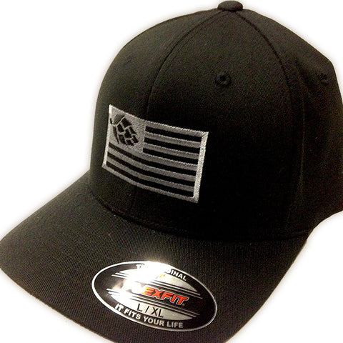 Hops Nation Flexfit Black Cap