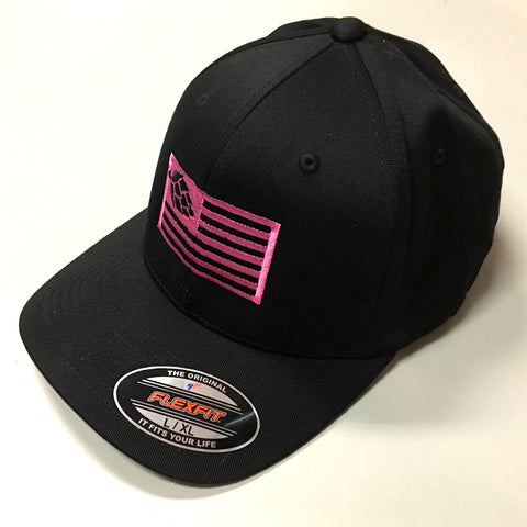 Hops Nation Flexfit PINK
