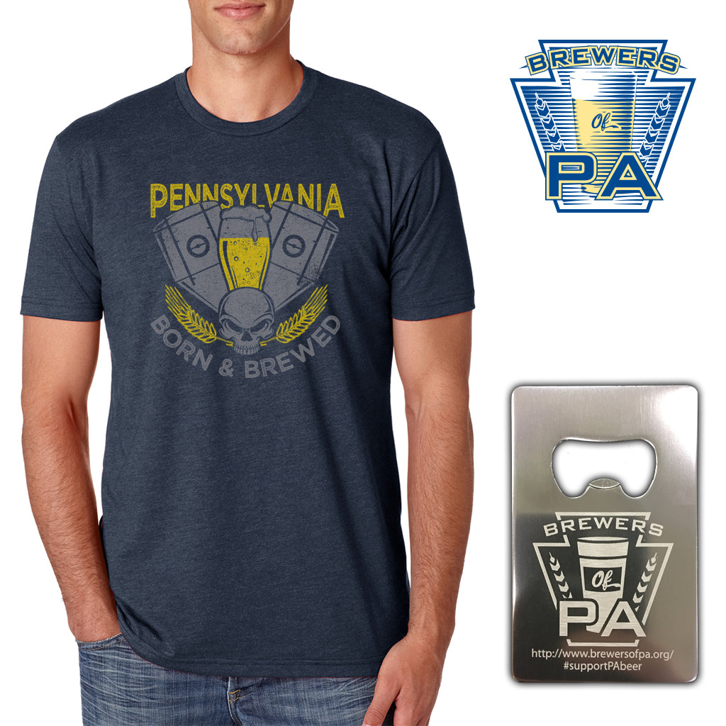 Brewers of PA Enthusiast Membership V-Twin Shirt - MEN