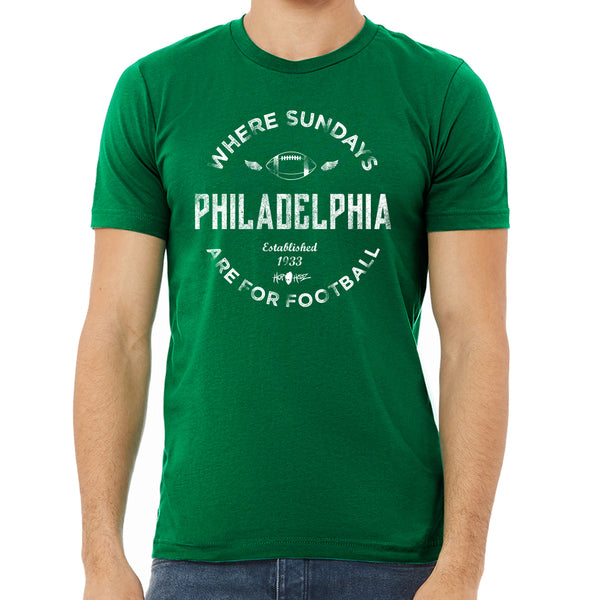 Philly Sunday Football Cotton Tee