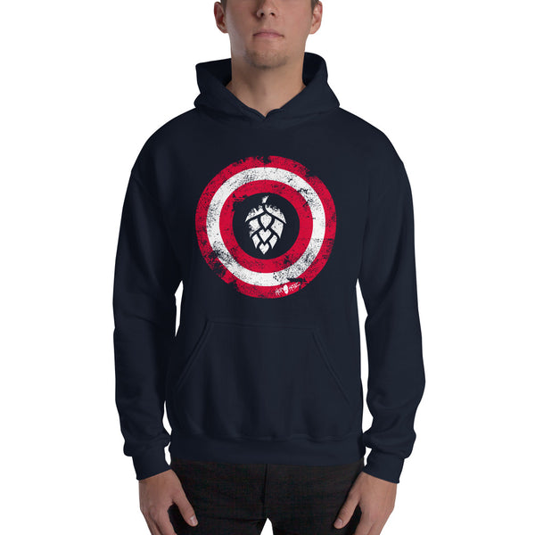 Captain Hops Winter Warrior Hoodie