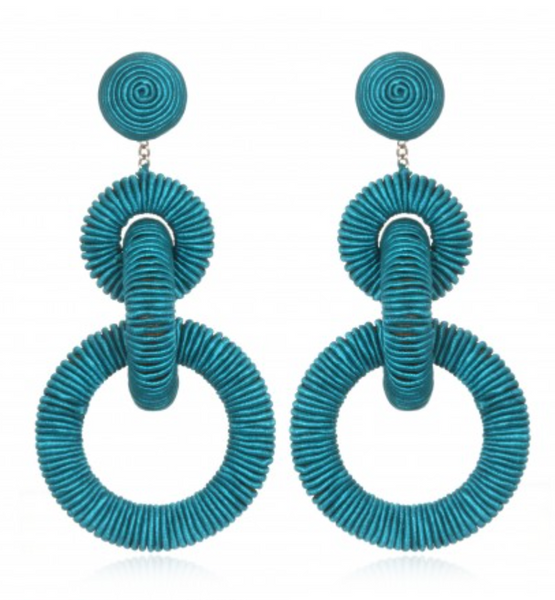 TRIPLE TIERED EARRING