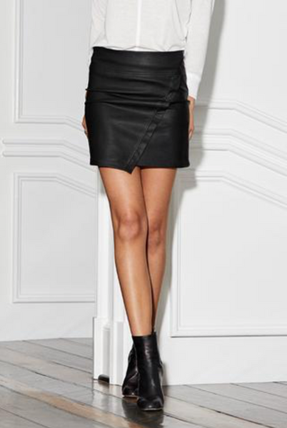 ASY LEATHER SKIRT